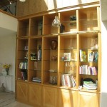 Agencement de Bibliothèque en Chêne