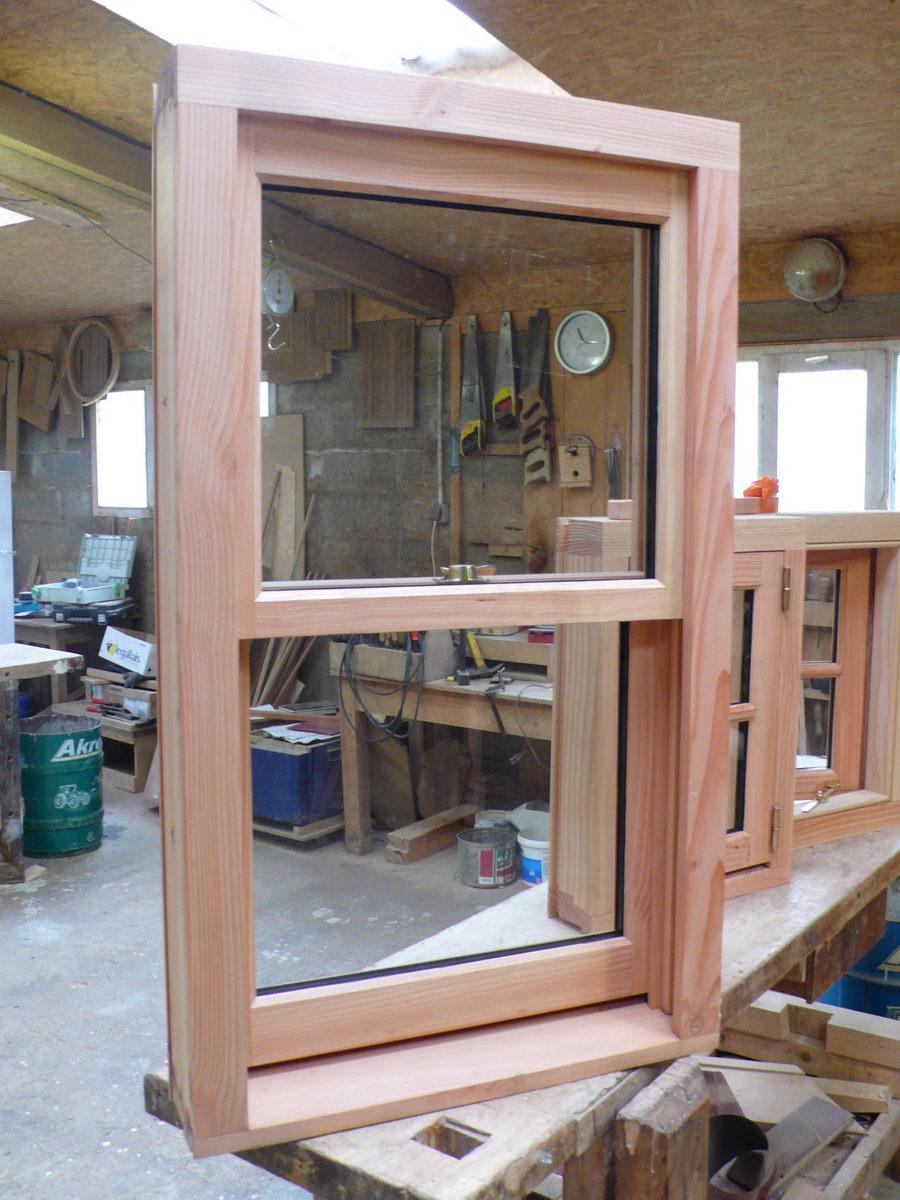 Fenêtres en Pin Douglas - L'Atelier du Tregor